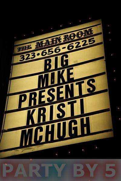 Big Mike presents Kristi McHugh Live at Comedy Store