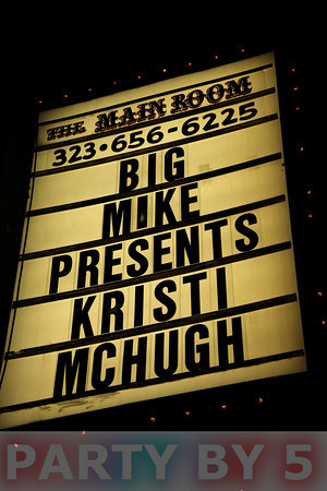 Big Mike presents Kristi McHugh Live at Comedy Store