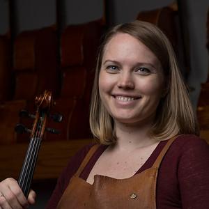 Kristin Siegfried Ballenger - violin maker