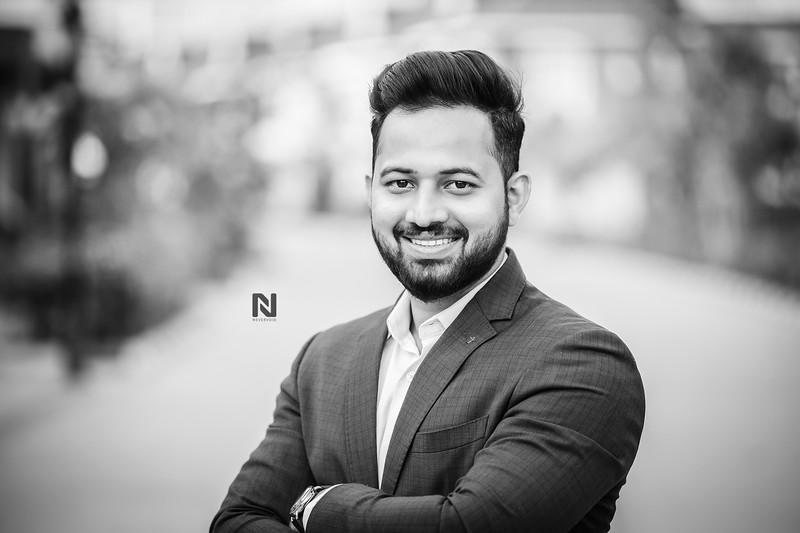 LinkedIn Headshot photographer in Bangalore