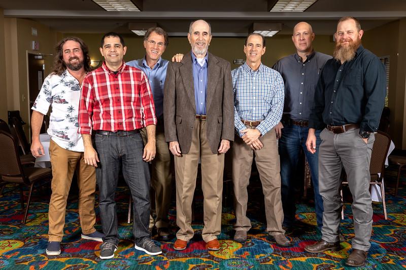 Russ, Jason, Frank, Pop, Allan, Everett, Jeremy