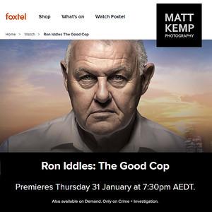 Ron Iddles - the good cop