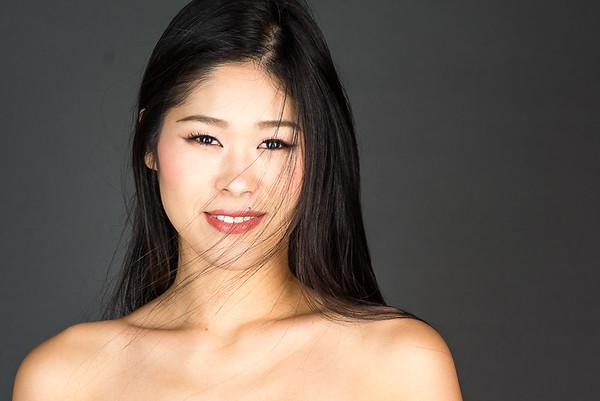 Beauty Pageant Headshot in Tokyo