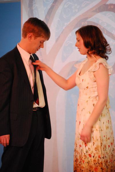 A Perfect Wedding - Circle Theatre, 2009<br /> <br /> Pat King and Darci Nalepa<br /> Director: Joanie Schultz<br /> Lighting Design: Lee Keenan<br /> Set Design: Bob Knuth<br /> Costume Design: Jessica Kuehnau