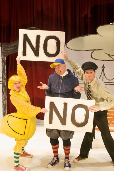 Don't Let Pigeon Drive the Bus - Emerald City Theatre Co., 2010