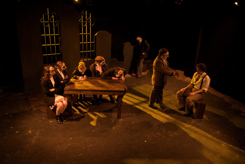 Spring Awakening - Promethean Theatre Ensemble, 2010<br /> <br /> Director: Stephen F. Murray<br /> Scenic Design: Aaron Menninga<br /> Costume Design: Emma Weber<br /> Lighting Design: Christine Ferriter<br /> Mask Design: Crystal Jovae Mazur
