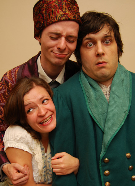 Chekhov's Life In the Country - Greasy Joan & Co., 2008 (Promotional Photo)<br /> <br /> (l to r) Kristina Klemetti, Matthew Sherbach, Neal Starbird<br /> Director: Libby Ford