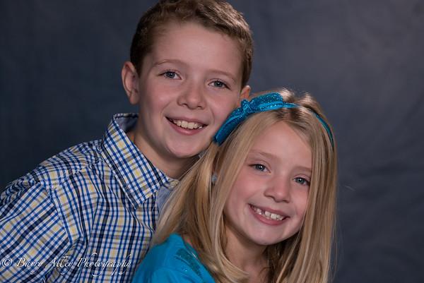 Brandon & Kaleigh School Photos 10-19-14