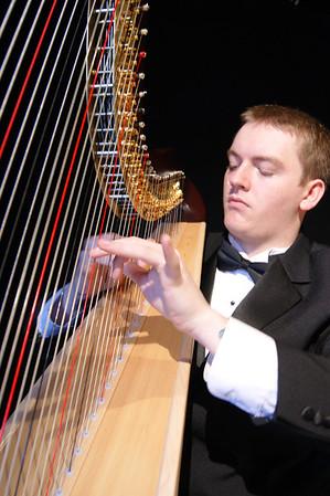 Harpist Jared