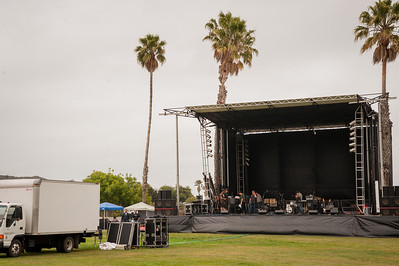 Setting the stage for the Irish Music Festival at Avila Beach Resort