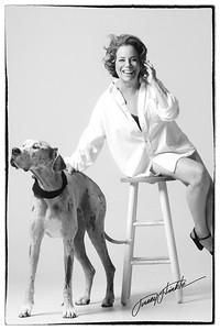 Mel Gorham with Isabella
