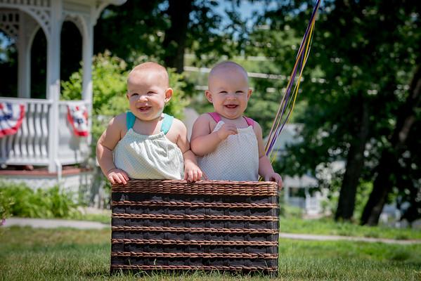 Twins turn 1 6-24-15
