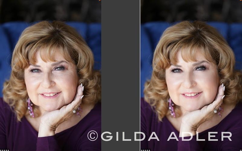 zoraya hand on chin close up b:a