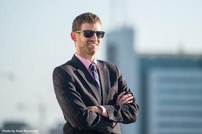 Historian, social media expert and Israel based tour guide, Daniel Rubenstein.