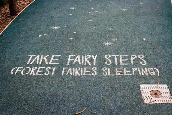 Take Fairy Steps