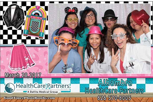 Alhambra Office Sock Hop March 28th 2017