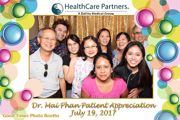 Dr. Mai Phan Patient  Appreciation