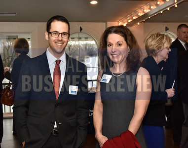 Derek Veilleux of SMRTINC and Nicole Mauer of SMRT Architects & Engineers