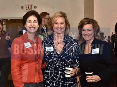 Ellen Sax, left, Kelly Smith and Donna Herman of MVP