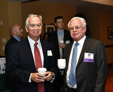 Bob Hinckley from CDPHP and Ed Keis of DeCrescente Distributing Co.