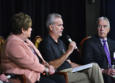 Paula Stopera, President & CEO, CAP COM Federal Credit Union;  Tony Hynes, CEO, Precision Valve & Automation  Barry McNamara, President, Benetech