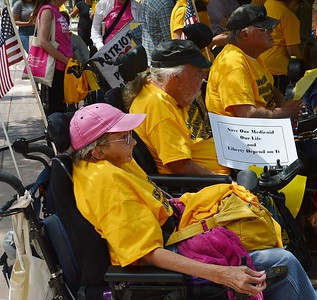 Medicaid cuts protest (1)