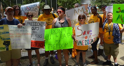 Medicaid cuts protest (16)