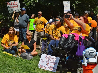 Medicaid cuts protest (10)