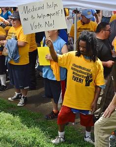 Medicaid cuts protest (9)
