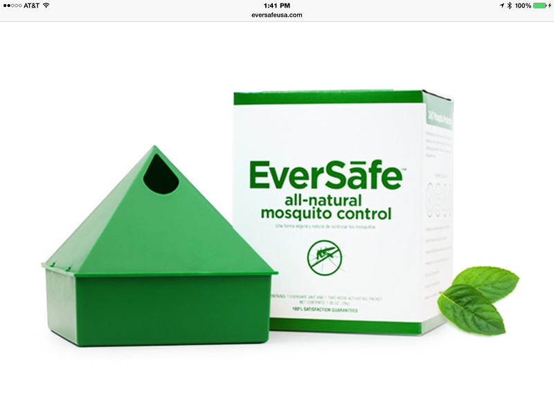 "♻️ To order this amazing Mosquito Solution on-line go to: <a href=""https://www.eversafeusa.com/category/all/"">https://www.eversafeusa.com/category/all/</a>  ♻️ EverSafe™ All-Natural Mosquito Control – Eco-Bag EverSāfe™ safely and effectively controls mosquitoes in virtually any outdoor environment. Simply add water, place EverSāfe™ outside and enjoy the outdoors again, Bite-Free."