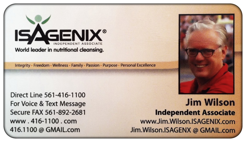 "Click onto image and select IMAGE size X3 for Larger Full Screen View   Ready to ""Get with the Health and Wellness Program"" click onto the links below... The opportunities are endless for Isagenix. The company is continuing to introduce Isagenix and its products to influential celebrities and athletes, in effort to get your attention. Learn more about celebrities and athletes who are using Isagenix products, check out the Isagenix site Links below..  Click onto image and select IMAGE size X3 for Larger Full Screen View of Page.  For More information or to join our Team go to these links:  http://Jim.Wilson.isagenix.com/us/en/home.  http://Jim.Wilson.isagenix.com/us/en/signup.dhtml ."