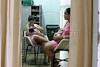 """Celia Roberta Lima Pereira, 27, right, nurses her new-born baby at the Pro Matre maternity hospital in Rio de Janeiro, Brazil. Brazil has an extraordinarily high rate of cesarean births at 44%, according a recent Health Ministry study. Experts say that the rate is due to """"cultural"""" factors as well as from pressure from private hospitals, which need to justify investments in technology.  In a recent study published in the June 2008 issue of Obstetrics & Gynecology , Cesarean delivery was associated with an increased risk of complications in a subsequent pregnancy. (Australfoto/Douglas Engle)"""