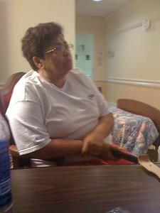 Mom watching her Novela