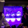 The calming blue and purple glow of an ice scultpure sits in the back of the UMass Memorial - HealthAlliance Hospital Gala on Saturday at the Double Tree in Leominster.  Sentinel & Enterprise photo/Jeff Porter