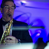 Tom Nutile of Tom Nutile Music plays the sax on stage during the UMass Memorial - Health Alliance Hospital Gala on Saturday at the Double Tree in Leominster.  Sentinel & Enterprise photo/Jeff Porter