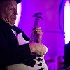 Guitarist, Ross Adams, plays with the Tom Nutile band during Saturdays Gala hosted by UMass Memorial - HealthAlliance Hospital on Saturday at the Double Tree in Leominster.  Sentinel & Enterprise photo/Jeff Porter