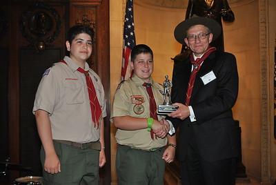 "Health ""Good Scout"" Award Reception"