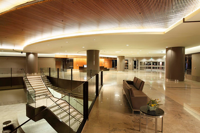 Main Lobby, El Camino Hospital, Mountain View, CA