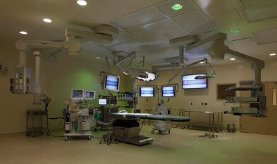 Surgical Suite, green surgical lighting