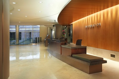 Main reception desk, El Camino Hospital