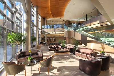 Atrium Lounge, El Camino Hospital, Mountain View, CA