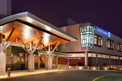 St. Joseph Hospital, Eureka, CA Architect: KMD