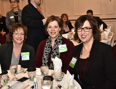 Diane Gerry, left, Lisa O'Connell and Julie Shaw