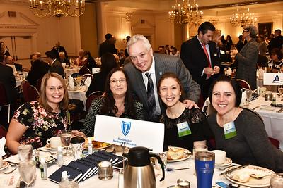 Kirk Panneton MD, of BlueShield of Northeastern New York with staff