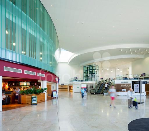 Blackpool Victoria Hospital -  entrance and multi-storey car park