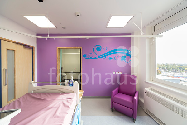 Piam Brown Ward Refurbishment, University Hospital Southampton