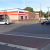 Intersection of Evergreen and North Clinton Avenue, BEFORE