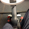 Foot selfie at the Boyertown YMCA