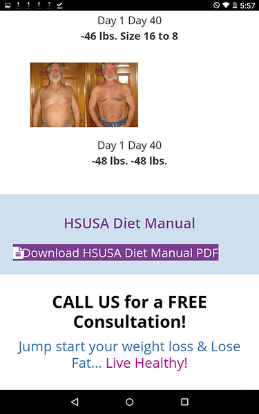 2018 Healthy Systems USA screen shot displaying an OLD Bouari Clinics Customer photo