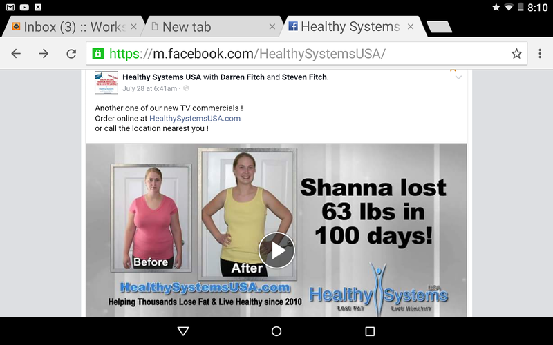 OFFICIAL July 2016 Facebook Page of Healthy Systems USA